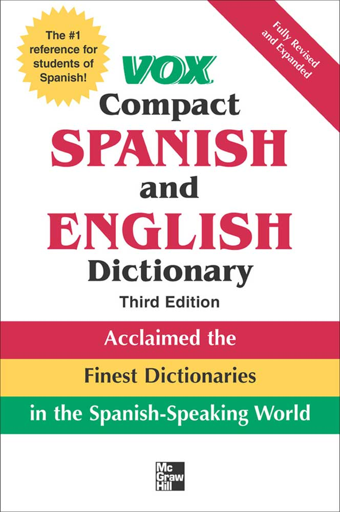 VOX Compact Spanish Hardbound Dictionary