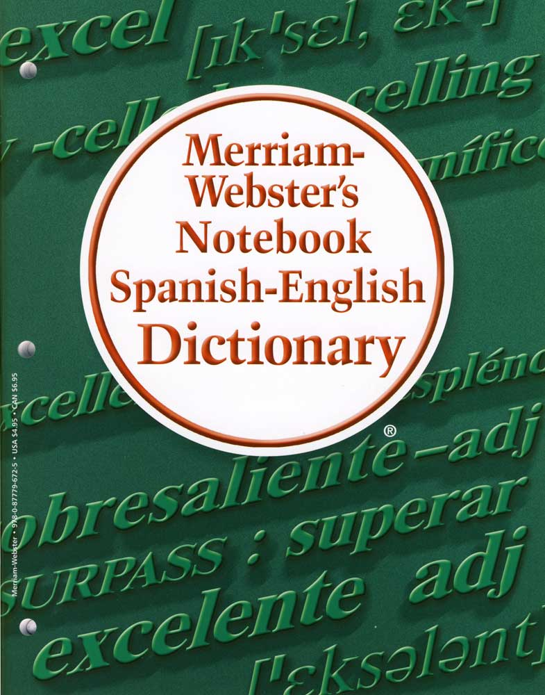 Merriam-Webster's Notebook Spanish/English Dictionary