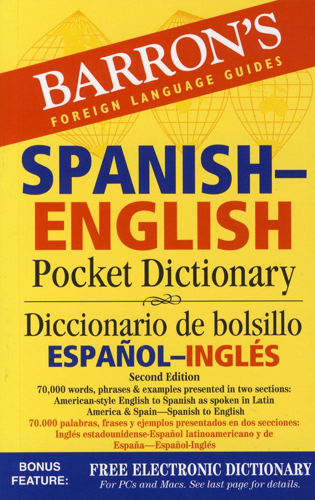 Barron's Spanish/English Pocket Dictionary