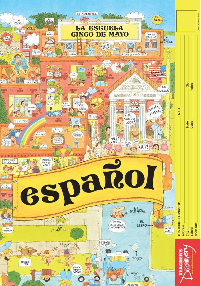 Español Bookcovers Set of 50
