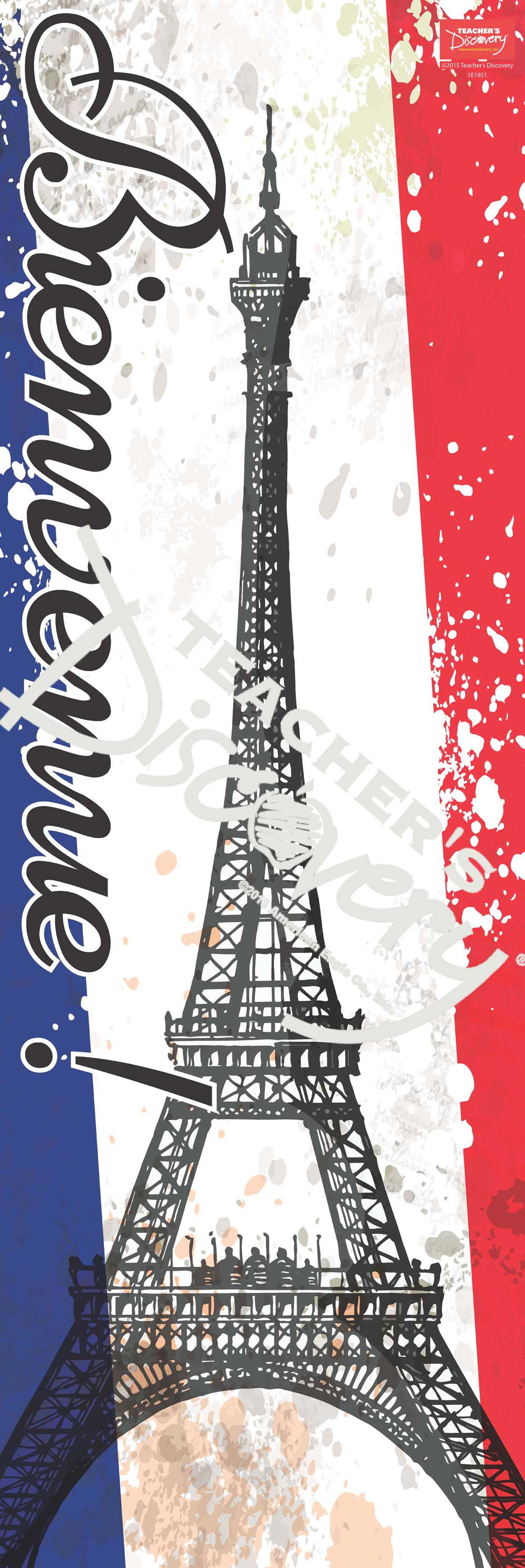Bienvenue ! Banner with Clips