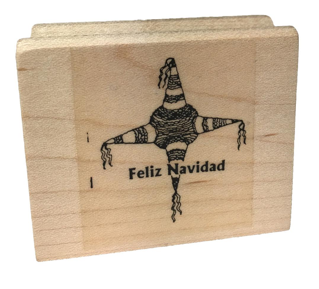 Feliz Navidad Spanish Stamper