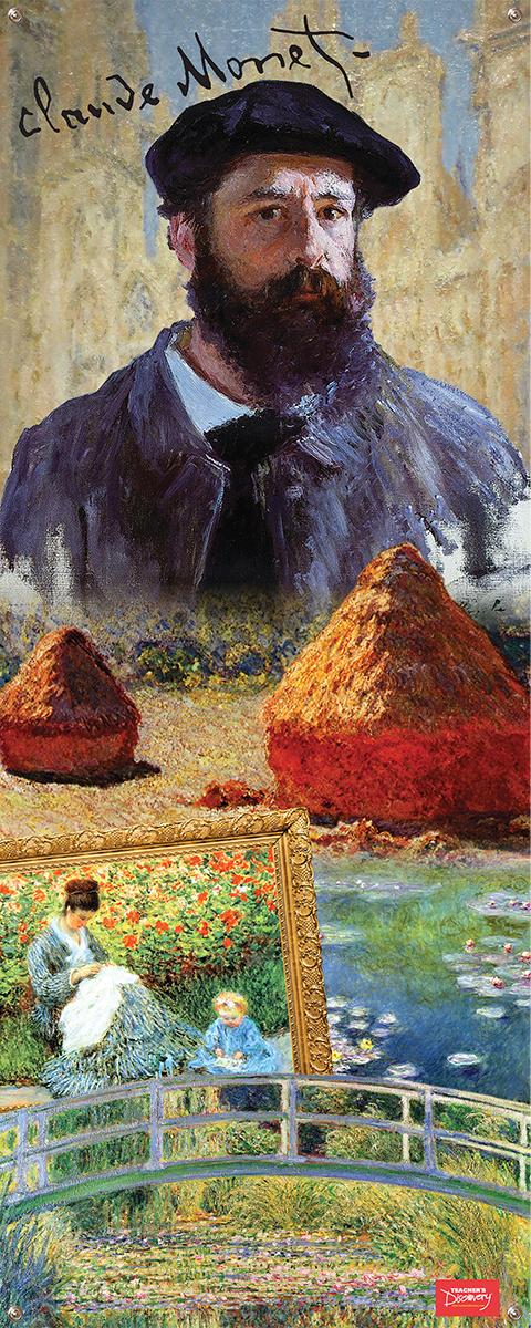 Claude Monet Vinyl Banner