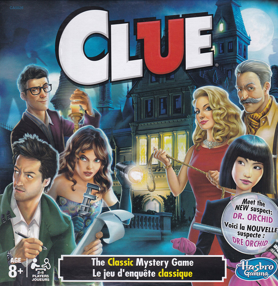 French/English Clue Game