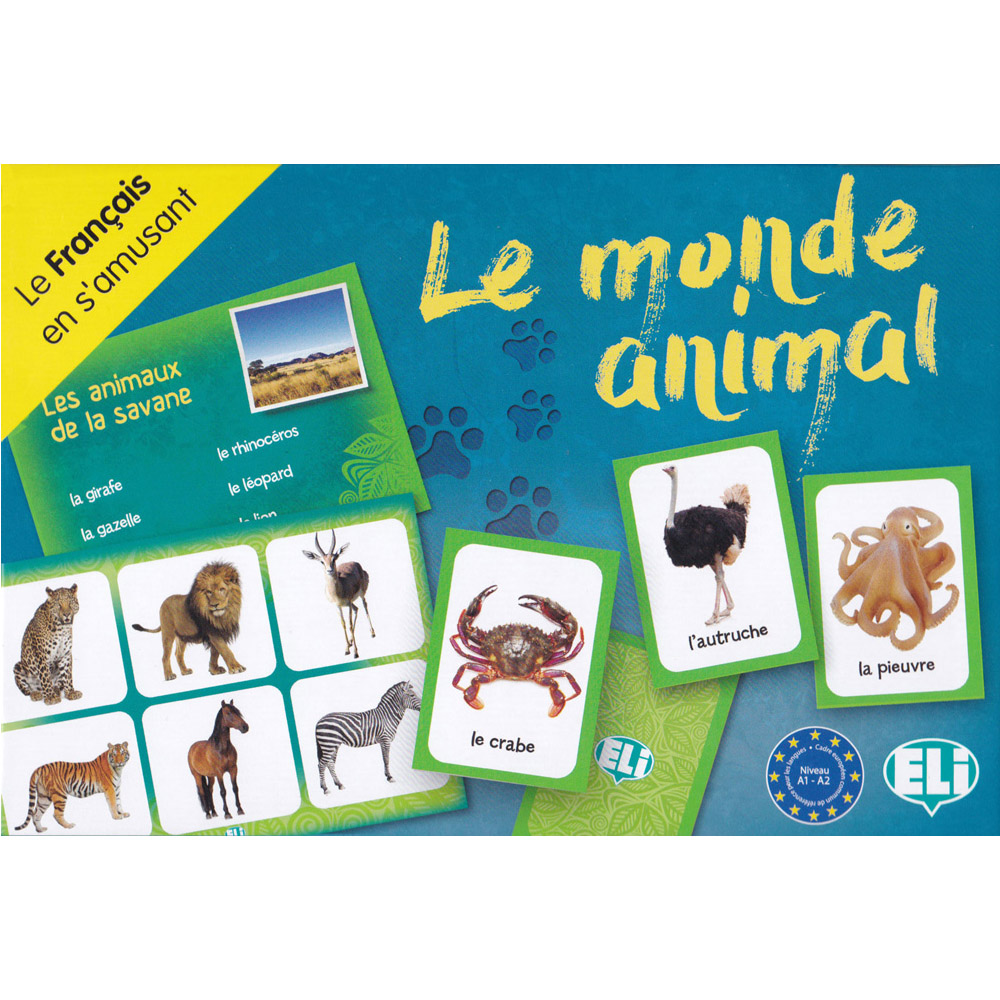 Le monde animal French Game