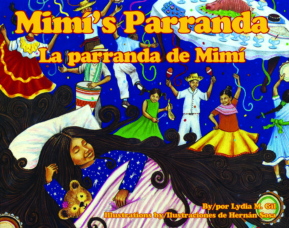 Mimi's Parade / La parranda de Mimí Bilingual Spanish-English Story Book with CD