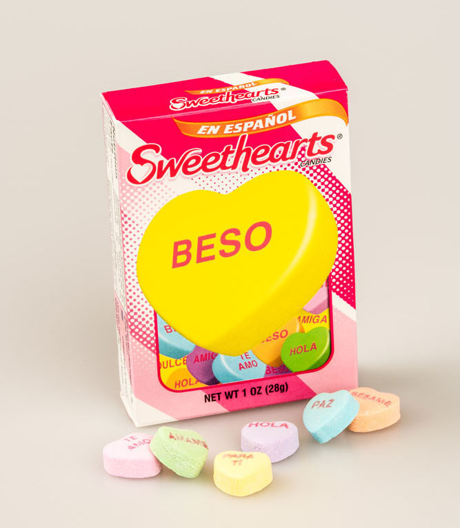 Necco® Spanish Sweethearts® Candy