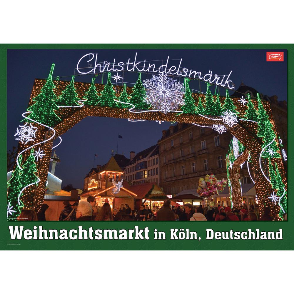 Germany's Weinachtsmarkt Poster