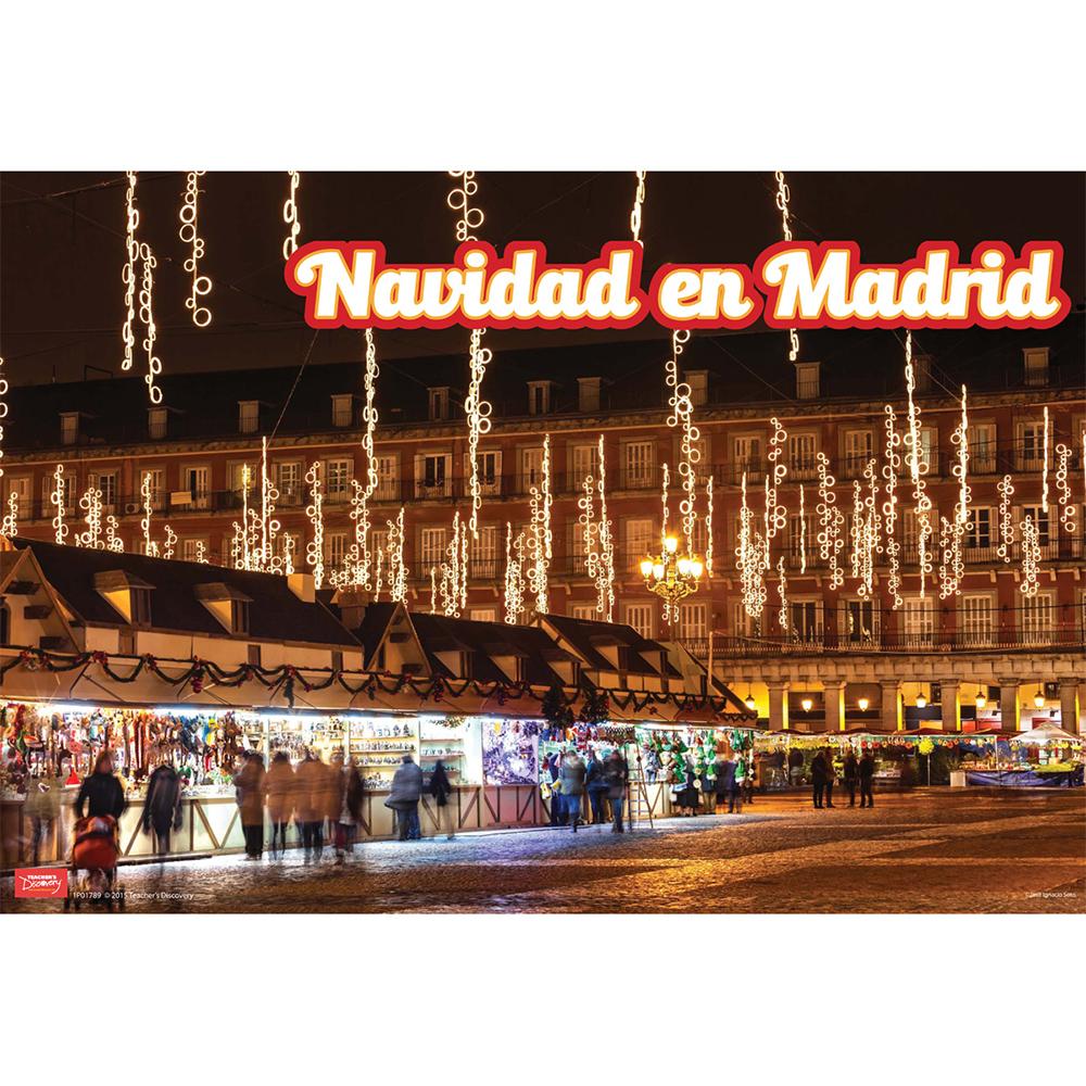 Navidad en Madrid Mini-Poster