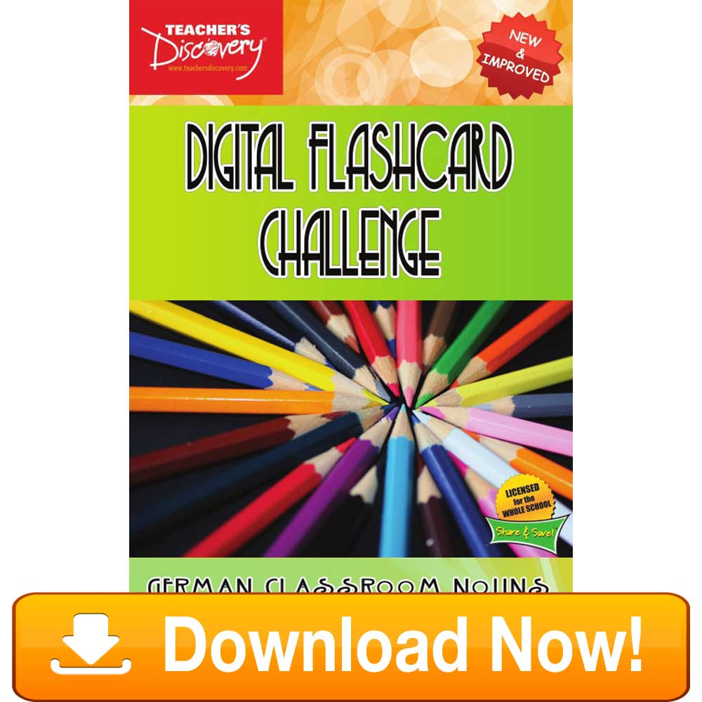 German Digital Flashcard Challenge Promethean Classroom Download