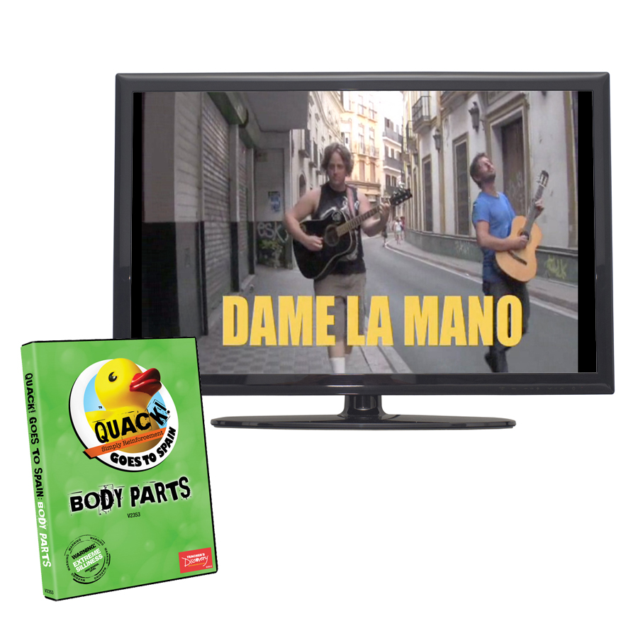 QUACK! Vocab Spain: Body Parts DVD