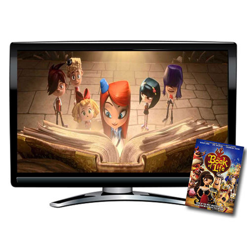 The Book of Life Spanish/French/English DVD
