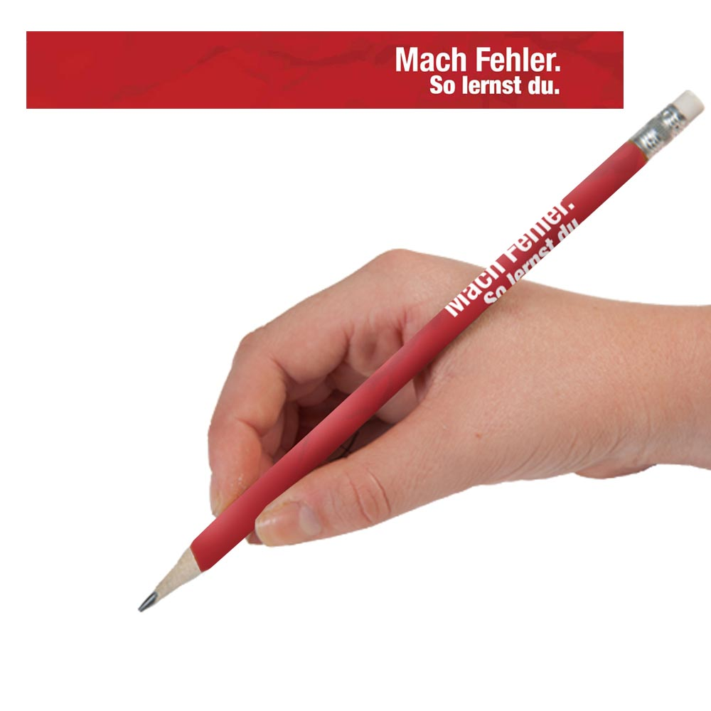 Make Mistakes German Pencils - One Dozen (12)