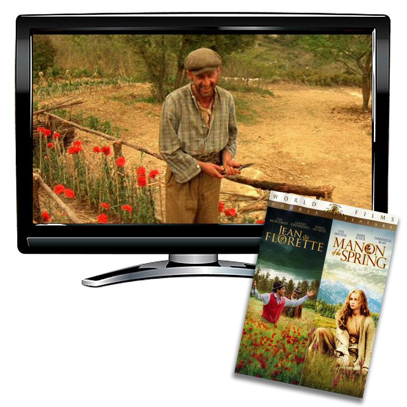 Manon of the Spring / Jean de Florette DVD