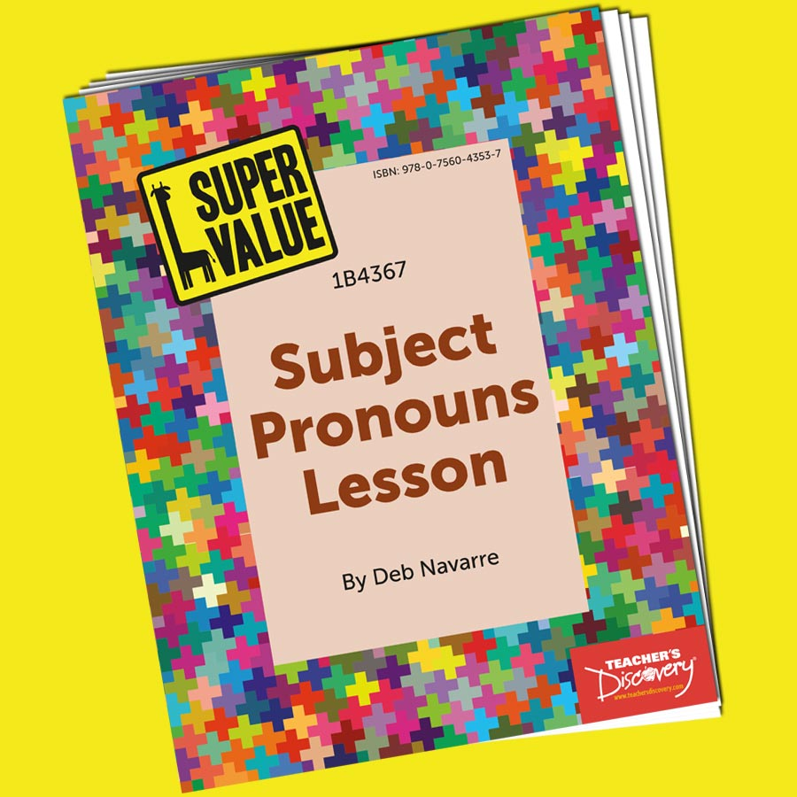 Super Value Subject Pronouns Lesson Spanish