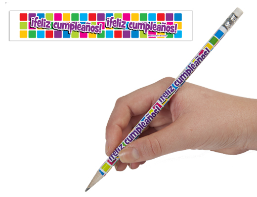 Spanish Birthday Pencils (2013)