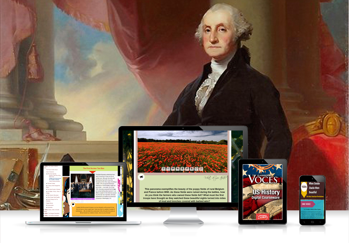 Voces® U.S. History Digital Resource