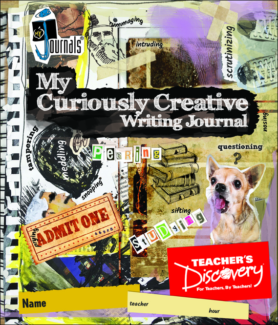 My Curiously Creative Writing Journal Set of 30