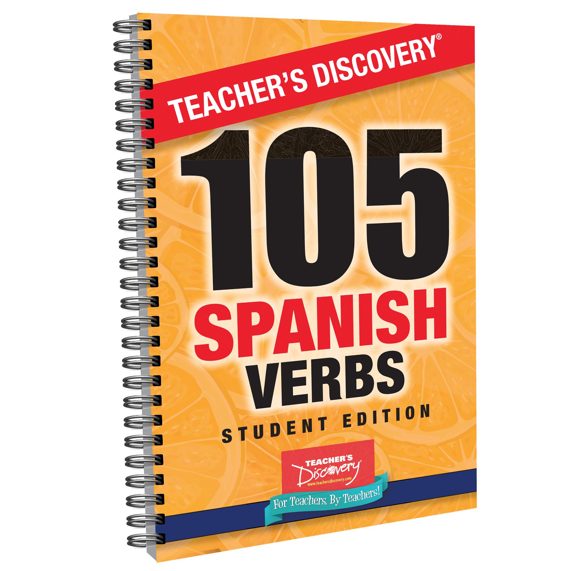 105 Spanish Verbs Handbook