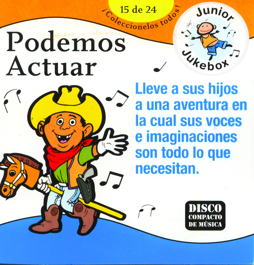 Podemos actuar Music CD