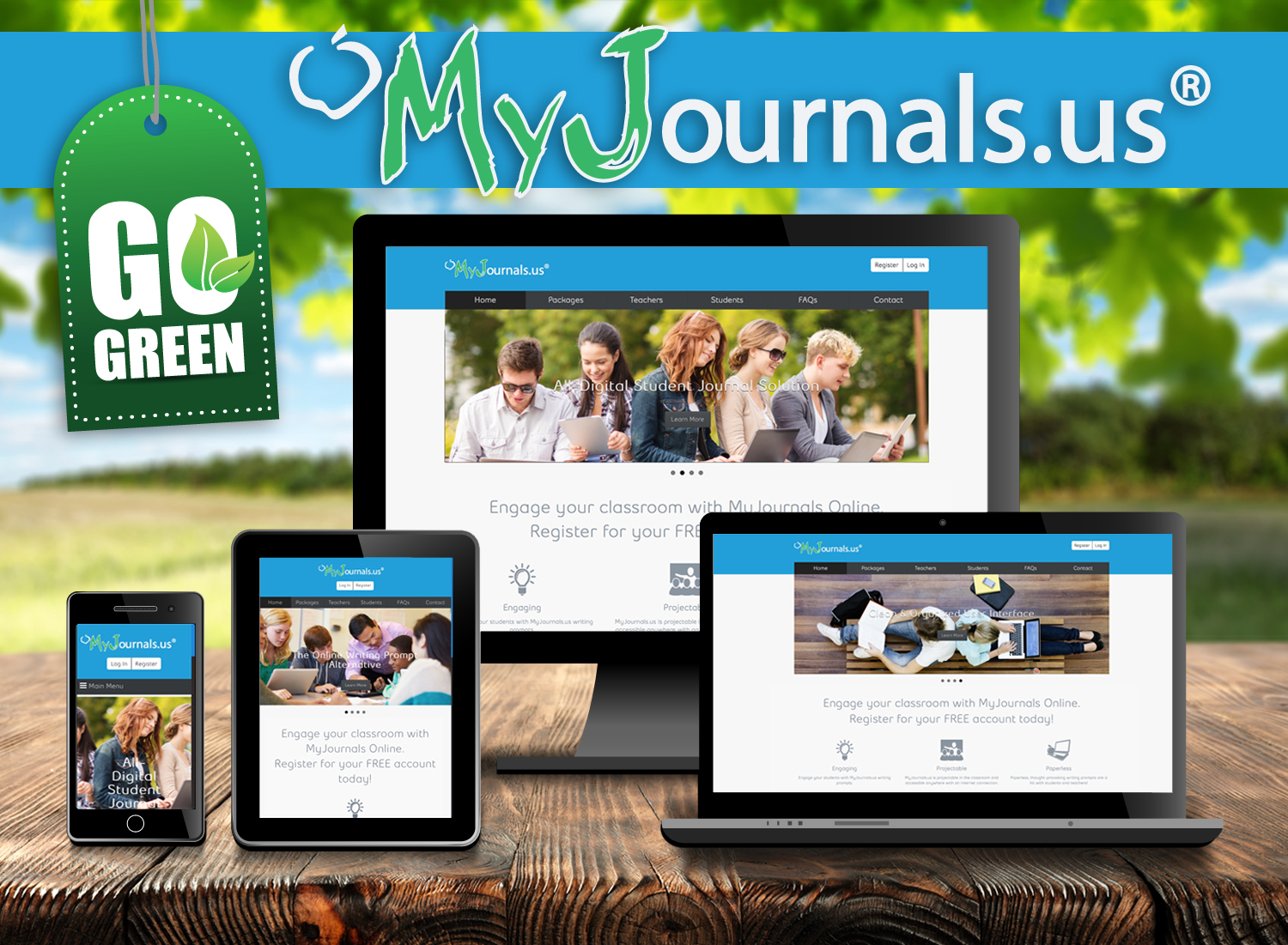 MyJournals.us Online Packages