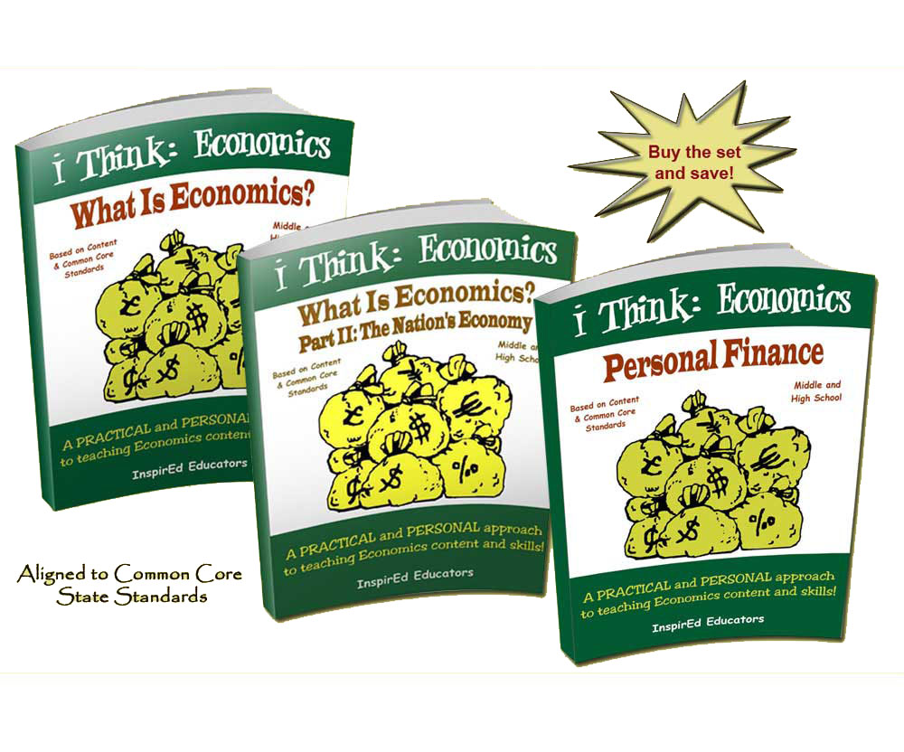 i Think: Economics Activity Book Set (3 )
