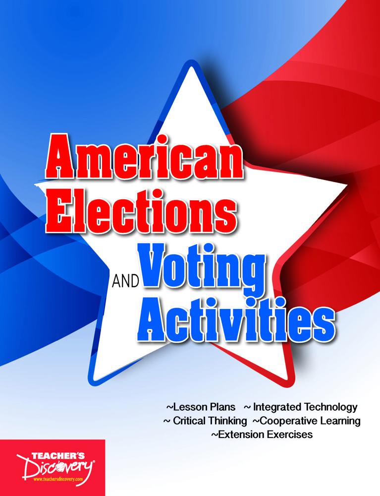 American Elections & Voting Activities Book