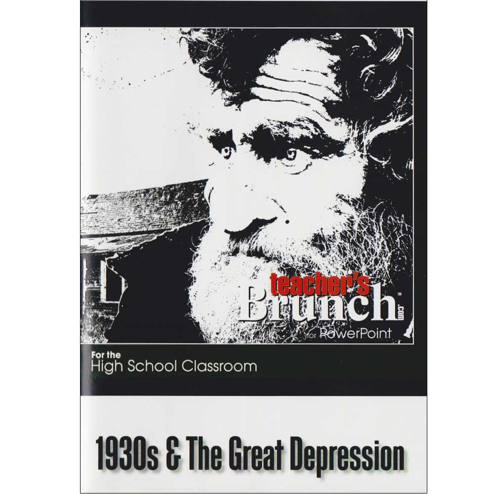 1930s & The Great Depression PowerPoint®