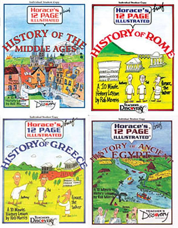 Horace's History Comics Sets