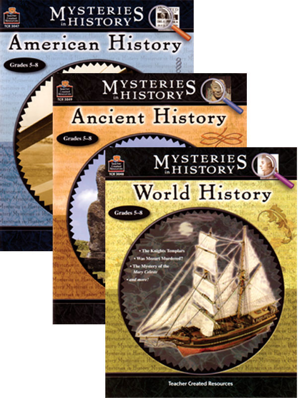 Mysteries In History 3-book Set