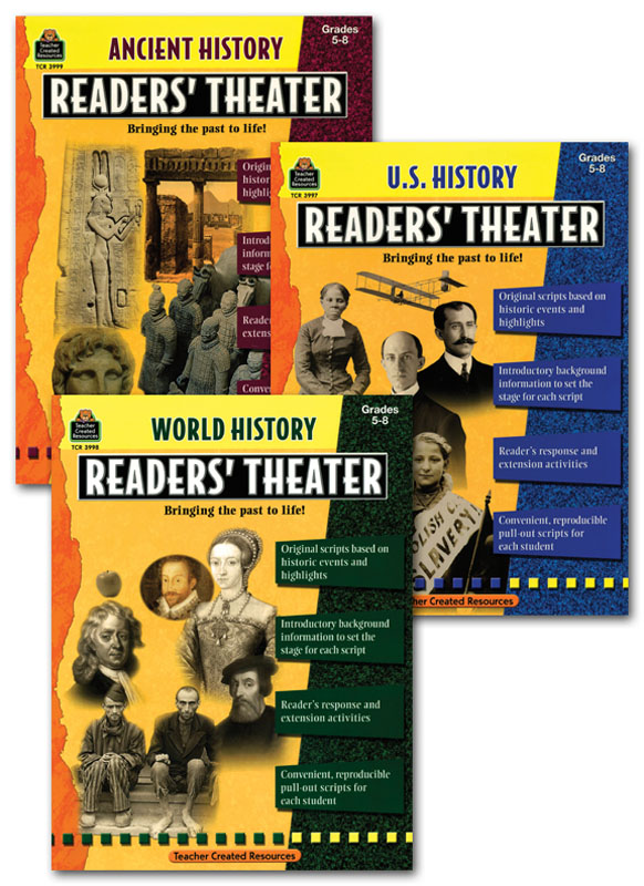 Readers' Theater ~ Activity Books Set of 3