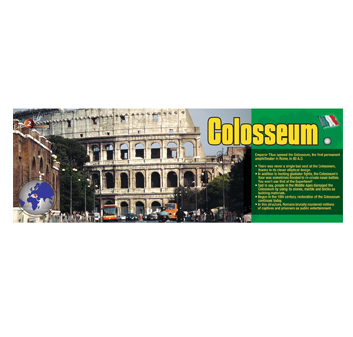 Colosseum Panoramic Poster