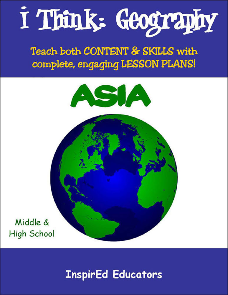 i Think: Geography, Asia Activity Book