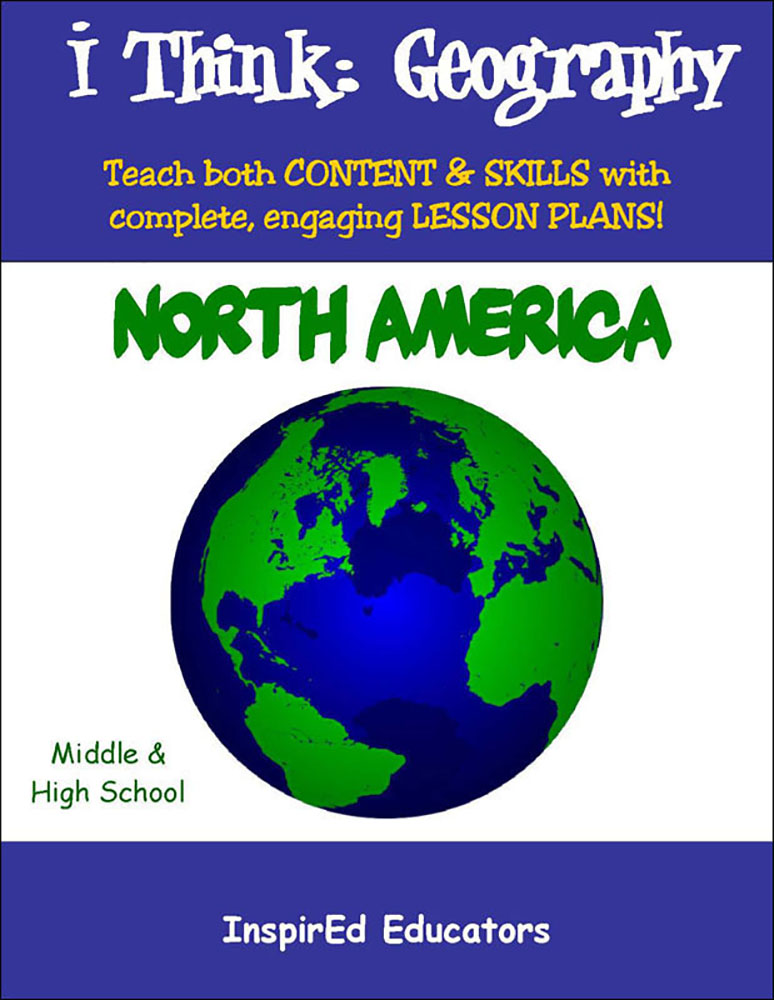 i Think: Geography, North America Activity Book