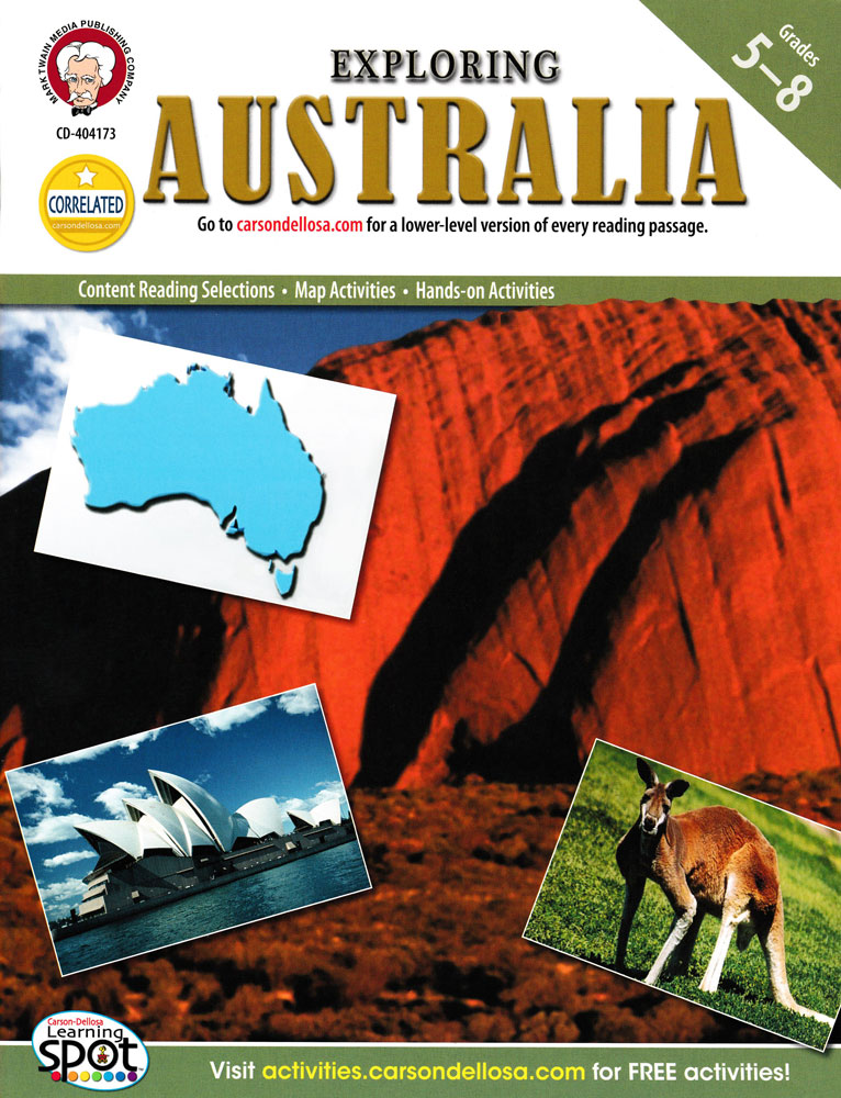 Exploring Australia Activity Book