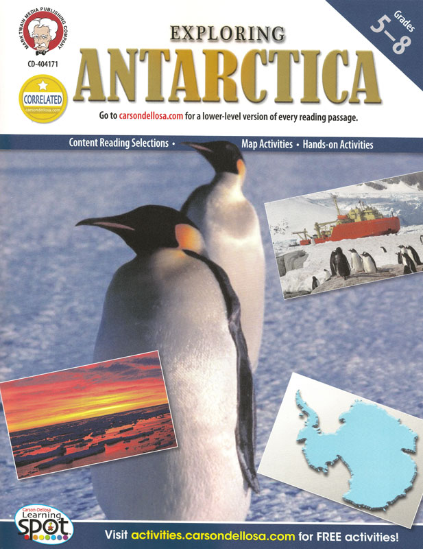 Exploring Antarctica Activity Book