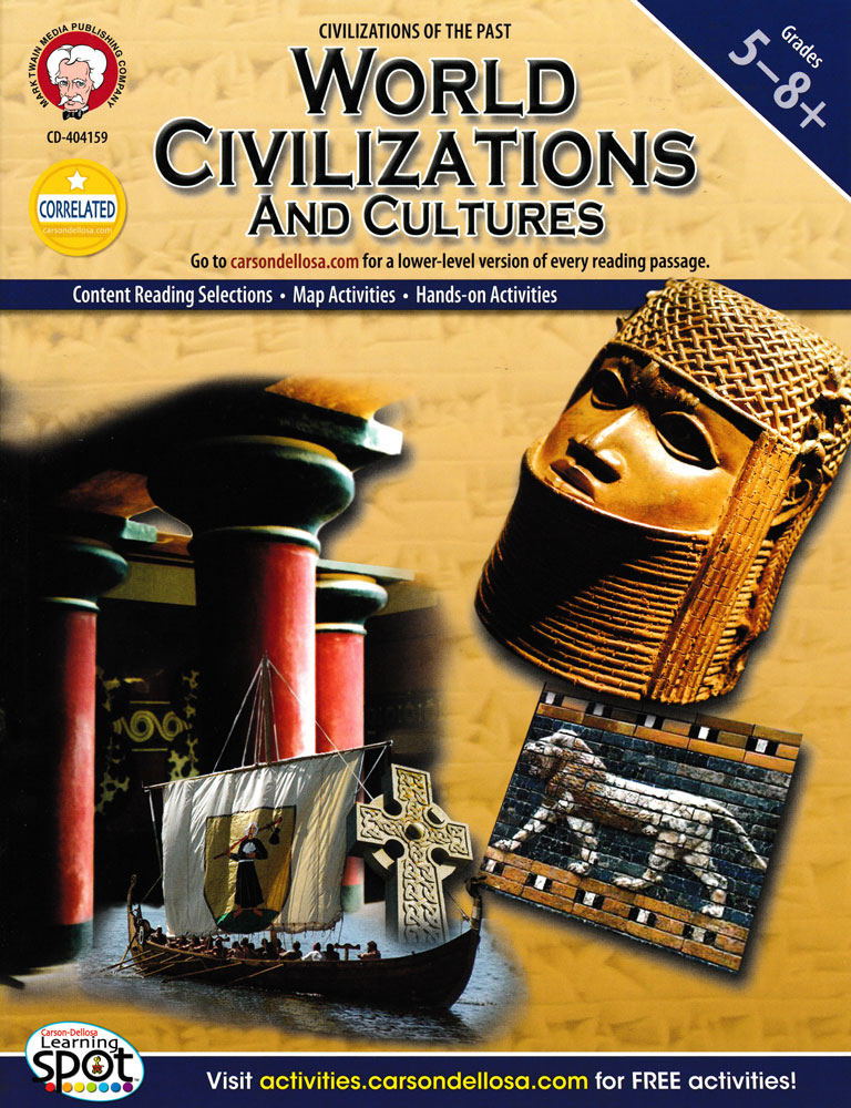 World Civilizations And Cultures Activity Book