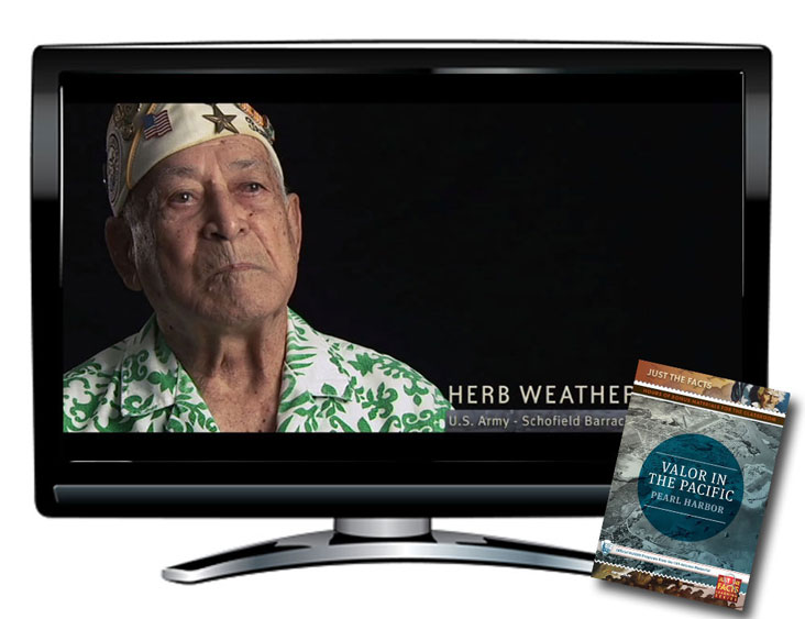 Just the Facts: Valor in the Pacific, Pearl Harbor DVD