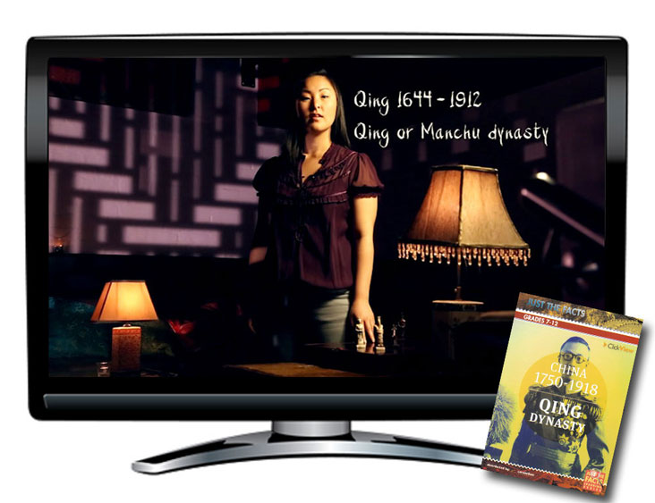 Just the Facts: China 1750-1918, Qing Dynasty DVD and CD