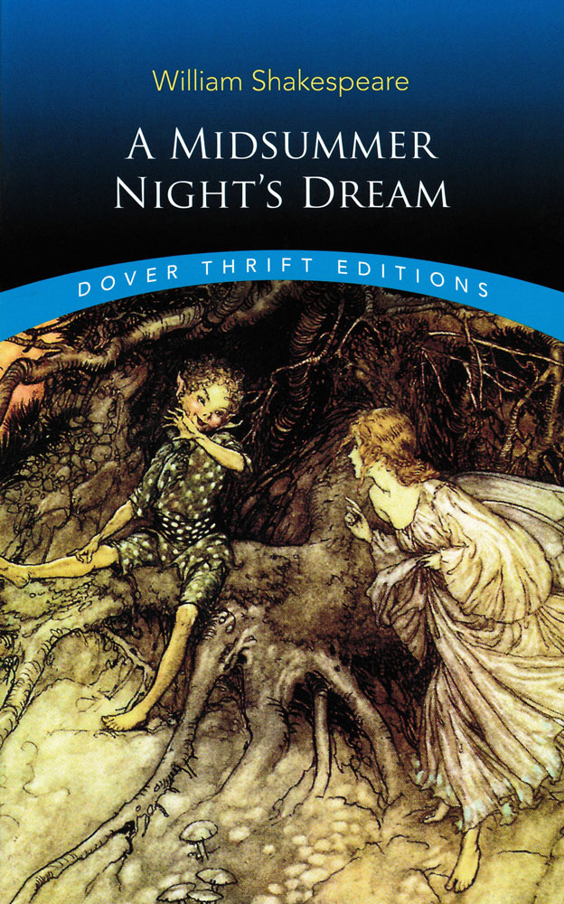 A Midsummer Night's Dream Paperback Book (NC1040L)