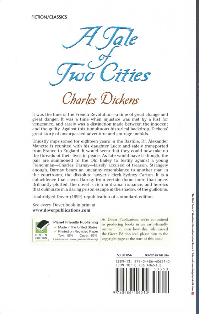 a focus on dr alexander manette in a tale of two cities Doctor alexandre manette is a character in charles dickens' novel, a tale of two  cities he is lucie's father a brilliant physician, and spent eighteen years in.