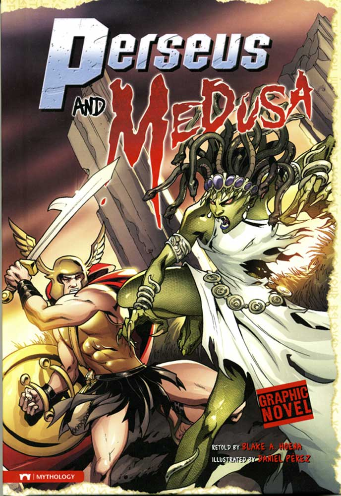 Perseus And Medusa Graphic Novel
