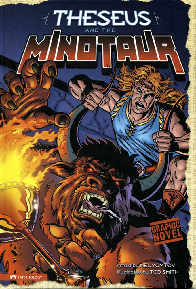 Theseus And The Minotaur Graphic Novel