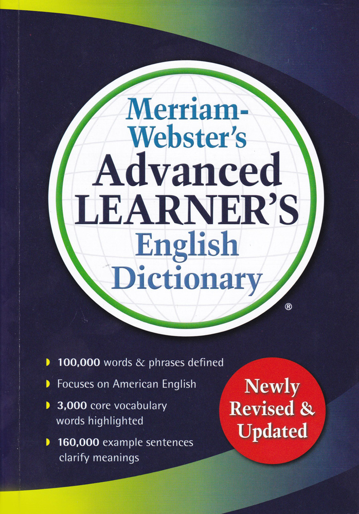 Merriam Webster's Advanced Learner's English Hardcover Dictionary