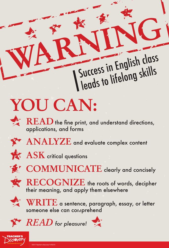 Warning! Mini-Poster
