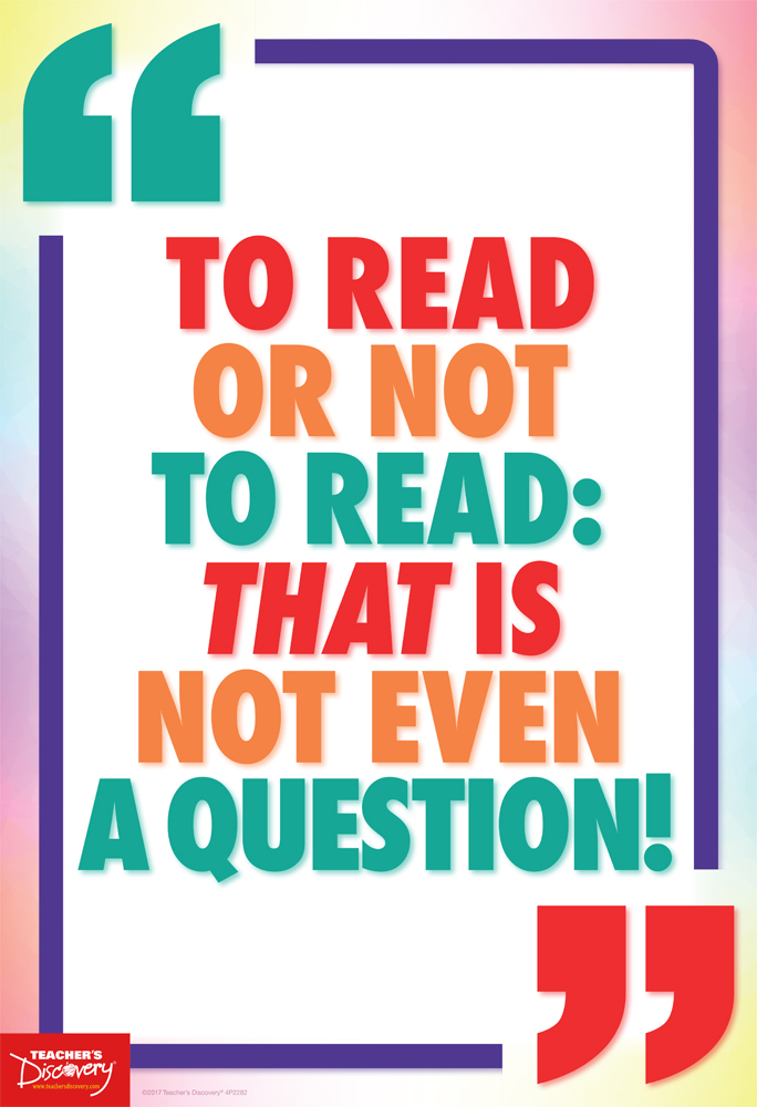 To Read or Not to Read! Mini-Poster