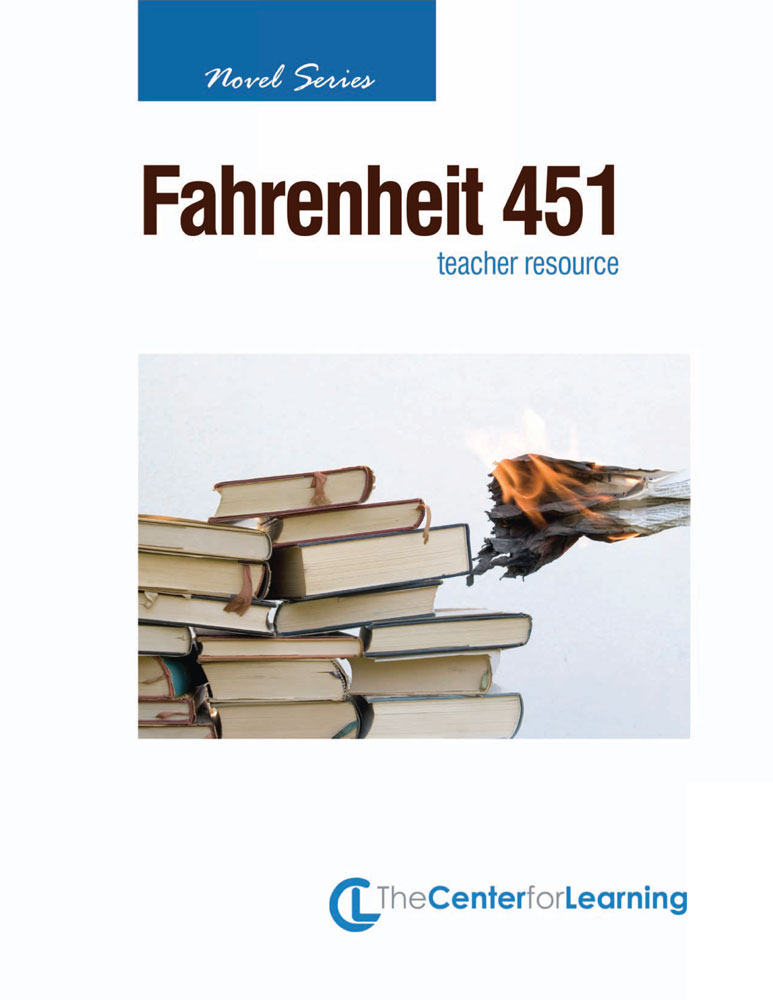 great works instructional guide for literature fahrenheit 451 english teacher 39 s discovery. Black Bedroom Furniture Sets. Home Design Ideas