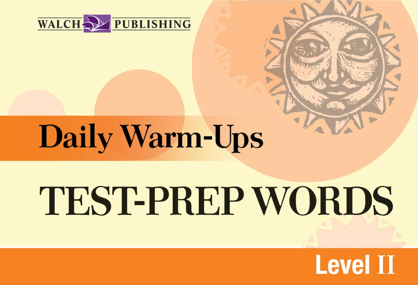 Daily Warm-Ups: Test Prep Words Level II Book