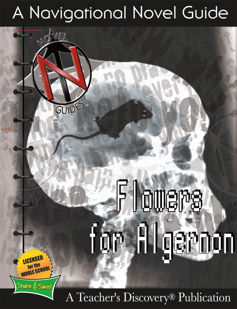 Flowers for Algernon Novel Guide Book