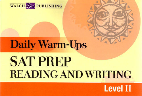 Daily Warm-Ups: SAT Prep Reading and Writing II Book
